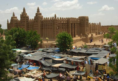 Westafrika, Mali: Expeditionsreise - Lehmbauarchitektur in Djenné
